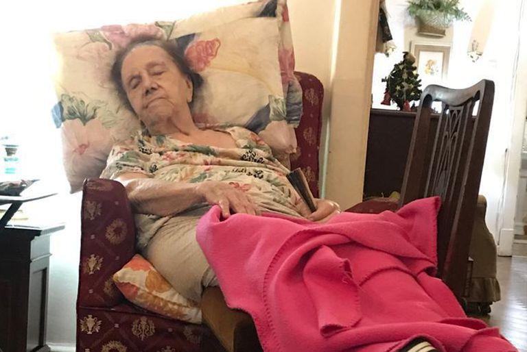 María Esther Bazo tenía 94 años y falleció en febrero pasado