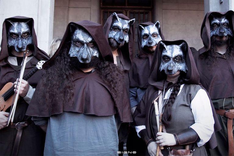 El grupo de música medieval Còr de Lop