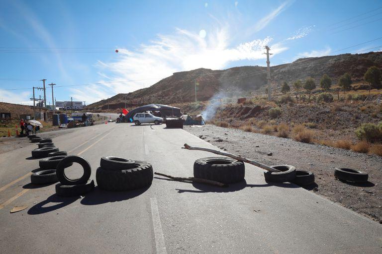 Protestas en Añelo, el corazón de Vaca Muerta