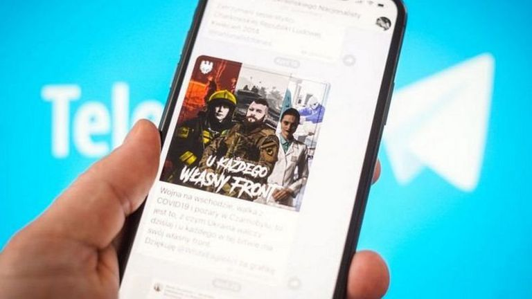 Grupos violentos en diferentes partes del mundo usan canales de Telegram para divulgar sus contenidos.