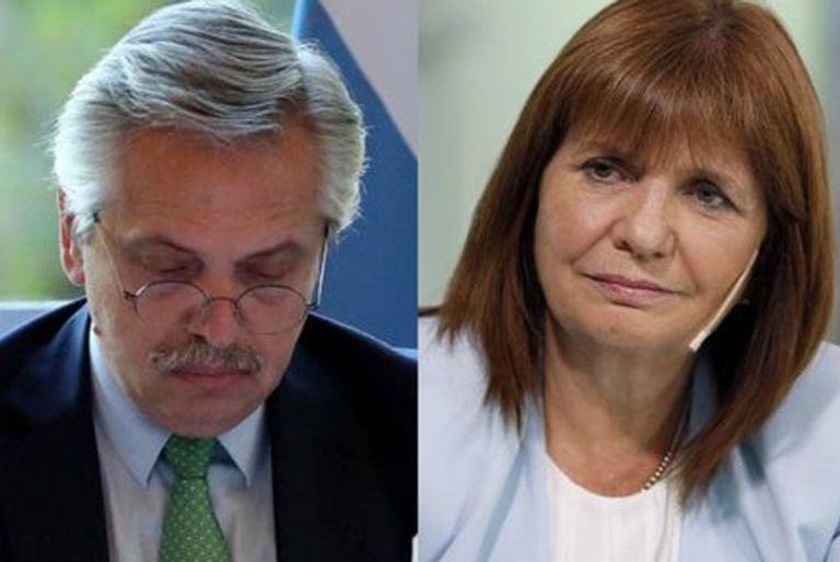 """Patricia Bullrich denunció que Aníbal Fernández """"politiza"""" a la Gendarmería"""