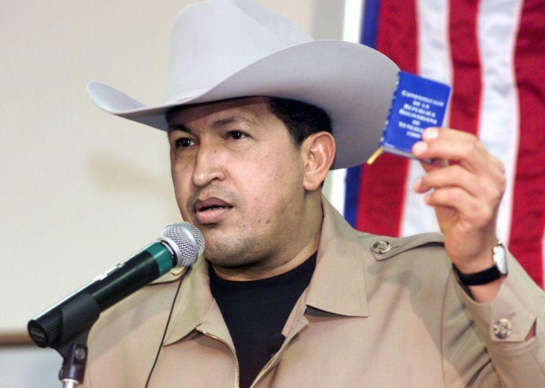 La vida de Chávez en fotos