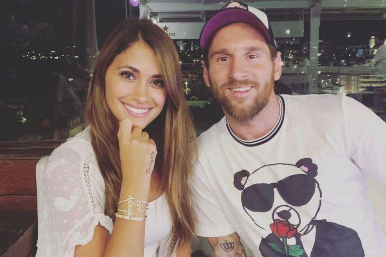 Lionel Messi y Antonela Roccuzzo compartieron una cena romántica en París