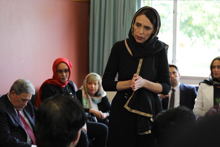 Ardern, eje del revuelo en Nueva Zelanda por una película sobre la masacre de Christchurch