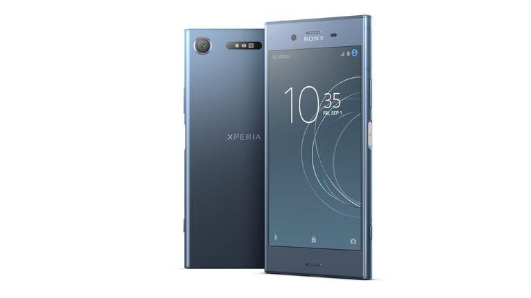 Un Sony Xperia XZ1, con pantalla de 5,2 pulgadas