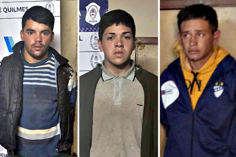 Los tres detenidos por el asesinato de Lucas Cancino