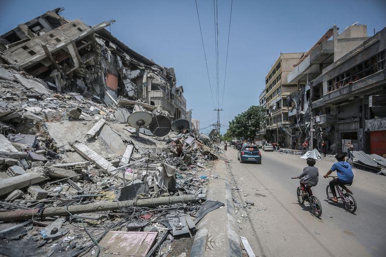 EE.UU. quiere reconstruir Gaza, pero dependerá de un factor clave de Hamas