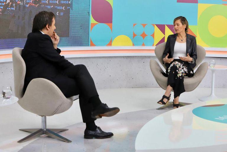 José Del Rio (LA NACION) entrevistó a Carolina Castro (UIA)