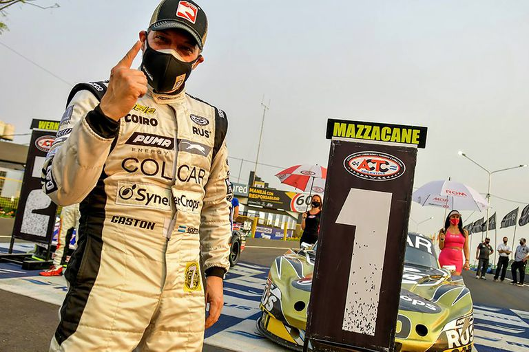Gastón Mazzacane: de esquivar la muerte y la F.1, al sueño de ser campeón de TC