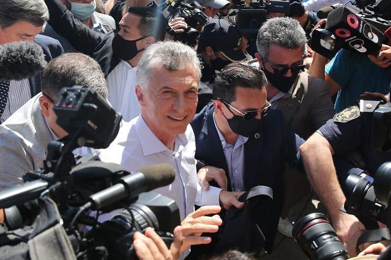 Macri entró al juzgado y en minutos comienza su indagatoria