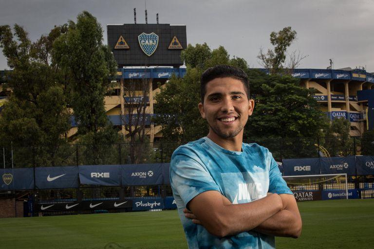 Bebelo Reynoso: pudo ser albañil, ahora brilla en Boca y sueña con la selección