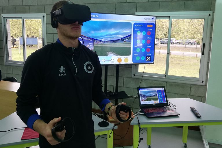 Revolución tecnológica. Cómo se entrena un arquero con realidad virtual