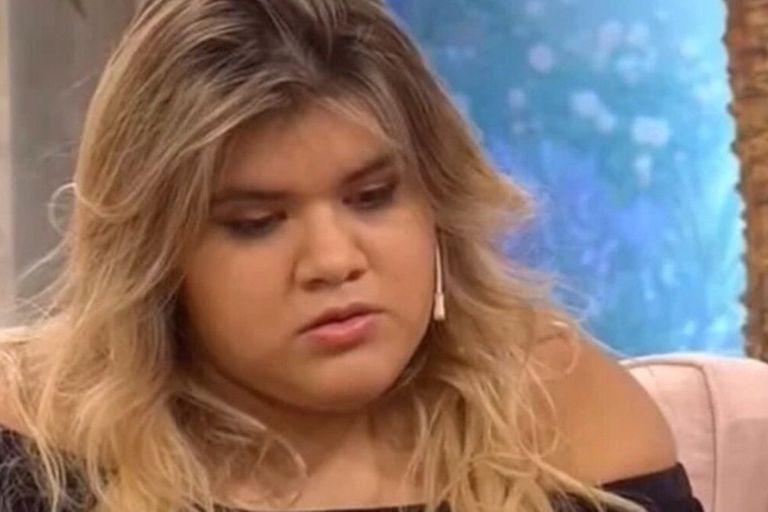 La joven se sinceró en el living de Cortá por Lozano