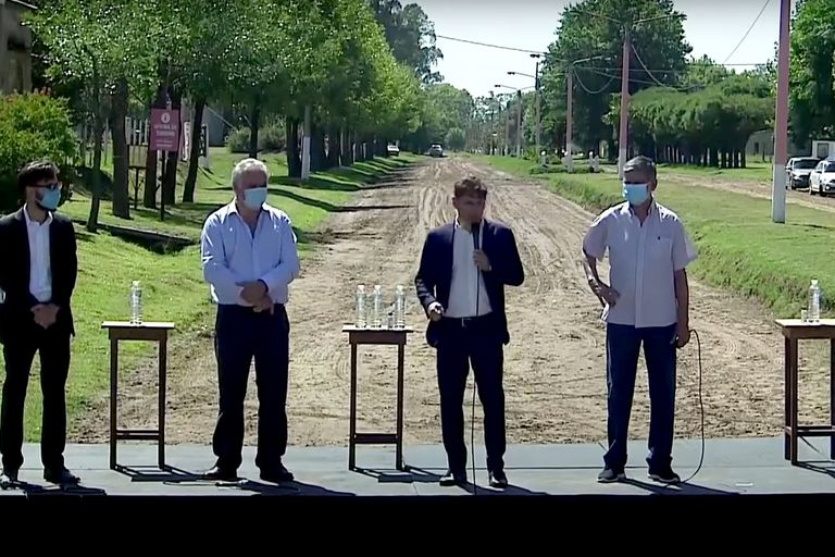 $6500 millones: Kicillof busca seducir al campo con un megaplán para caminos