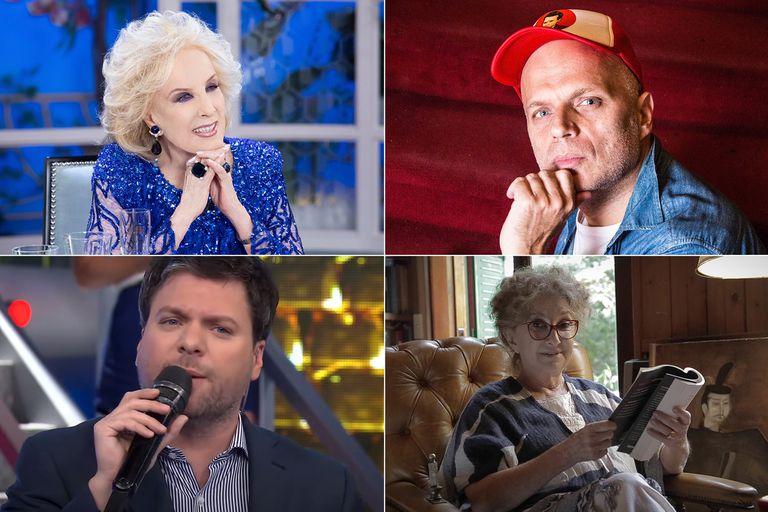 De Mirtha Legrand a Norma Aleandro, de Guido Kaczka a Sebastián Wainraich: las figuras del espectáculo hacen su balance de 2020