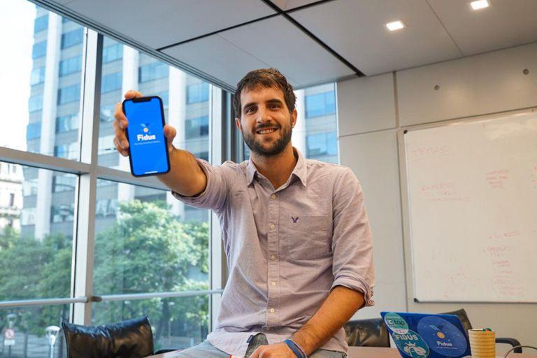 Mateo Bovio, creador de Fidus y billetera Tap.