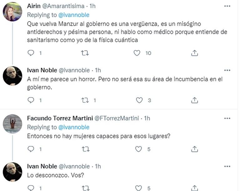 Las repercusiones de los dichos del cantante en Twitter