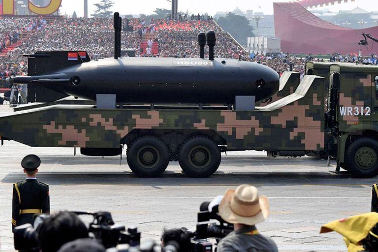El UUV HSU001 chino