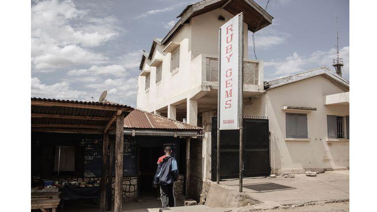 Los negocios de venta de gemas se multiplicaron en Sakaraha
