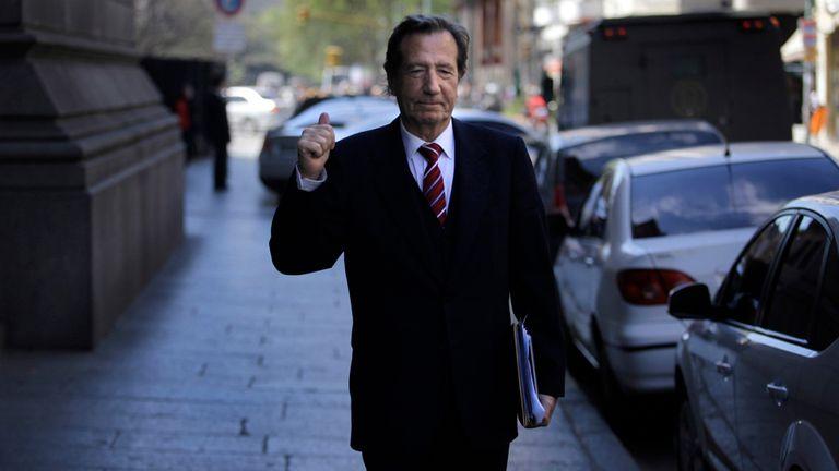 El embajador y ex titular de la Auditoría General de la Nación, Leandro Despouy
