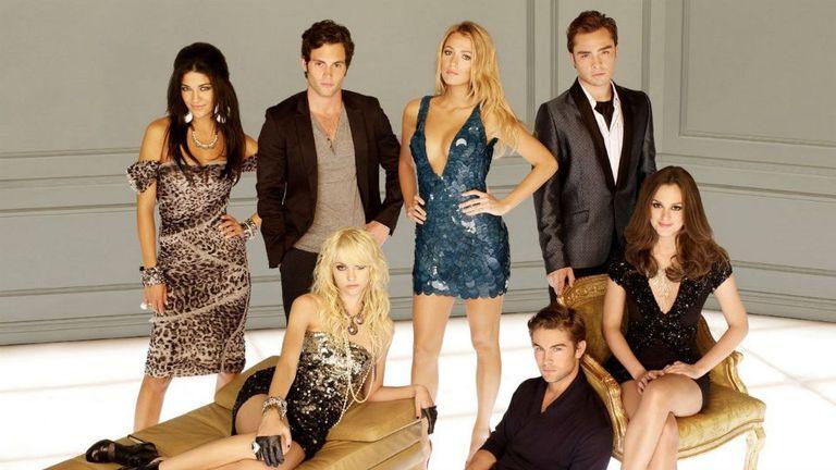 El elenco original de Gossip Girl
