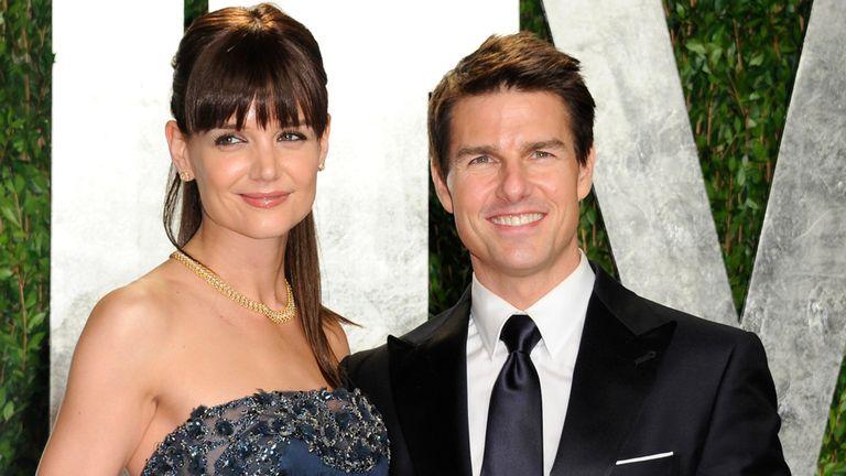 Katie Holmes y Tom Cruise, en tiempos felices