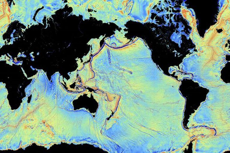 Los satélites también pueden trazar la forma del fondo marino, pero el proyecto Seabed 2030 quiere hacerlo con mayor precisión