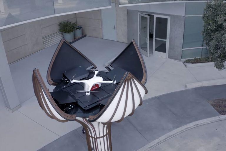 Así funciona la base de drones autónomos para el envío de estudios clínicos