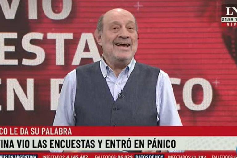 """Alfredo Leuco se refirió a las encuestas electorales, que preocuparon a Cristina y que le hicieron dar """"un volantazo"""" con relación a las clases presenciales en la provincia de Buenos Aires"""