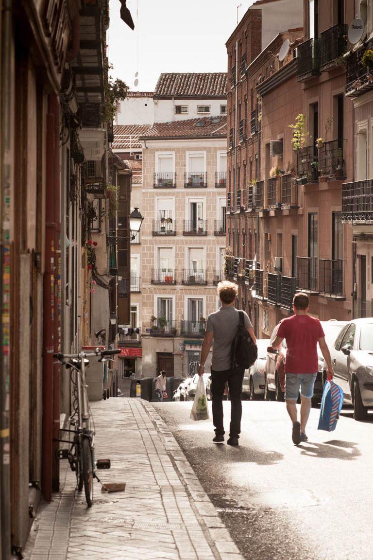 Las calles del barrio madrileño de Lavapiés