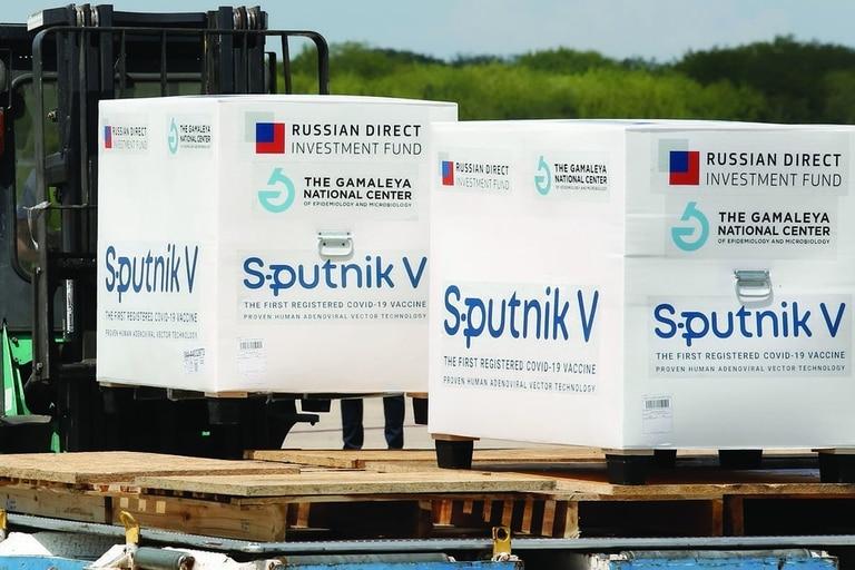 En total, 4.467.745 dosis de Sputnik V llegaron a la Argentina, menos de un 25 por ciento de las inicialmente acordadas con el gobierno ruso y el instituto Gamaleya