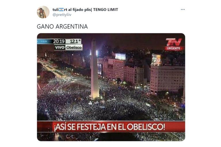 La ironía por el triunfo de la selección argentina