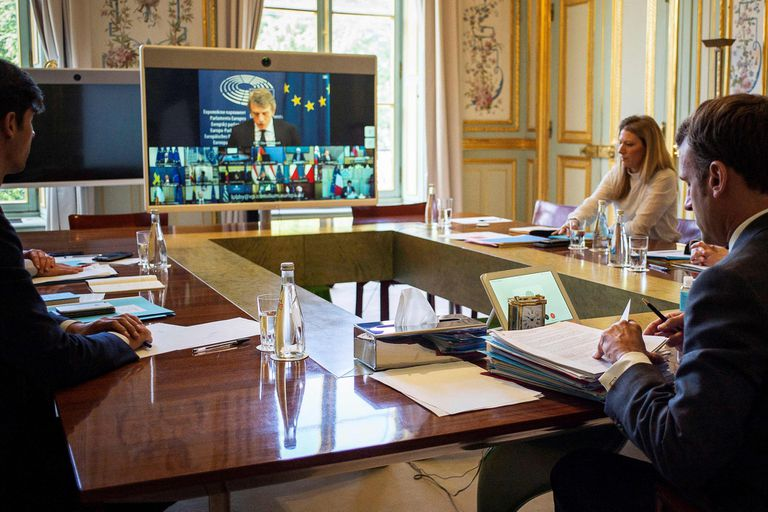 Coronavirus: los líderes de la UE inician una difícil reconstrucción