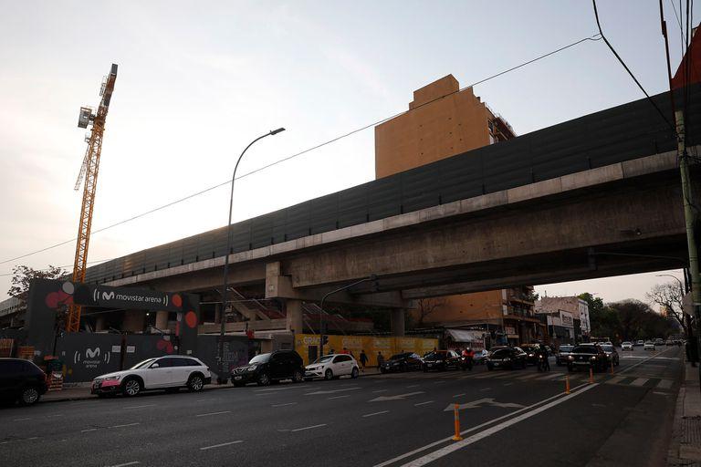 Estación Villa Crespo del tren San Martin, cuya obra está paralizada; la finalización de los trabajos dejó de ser una prioridad