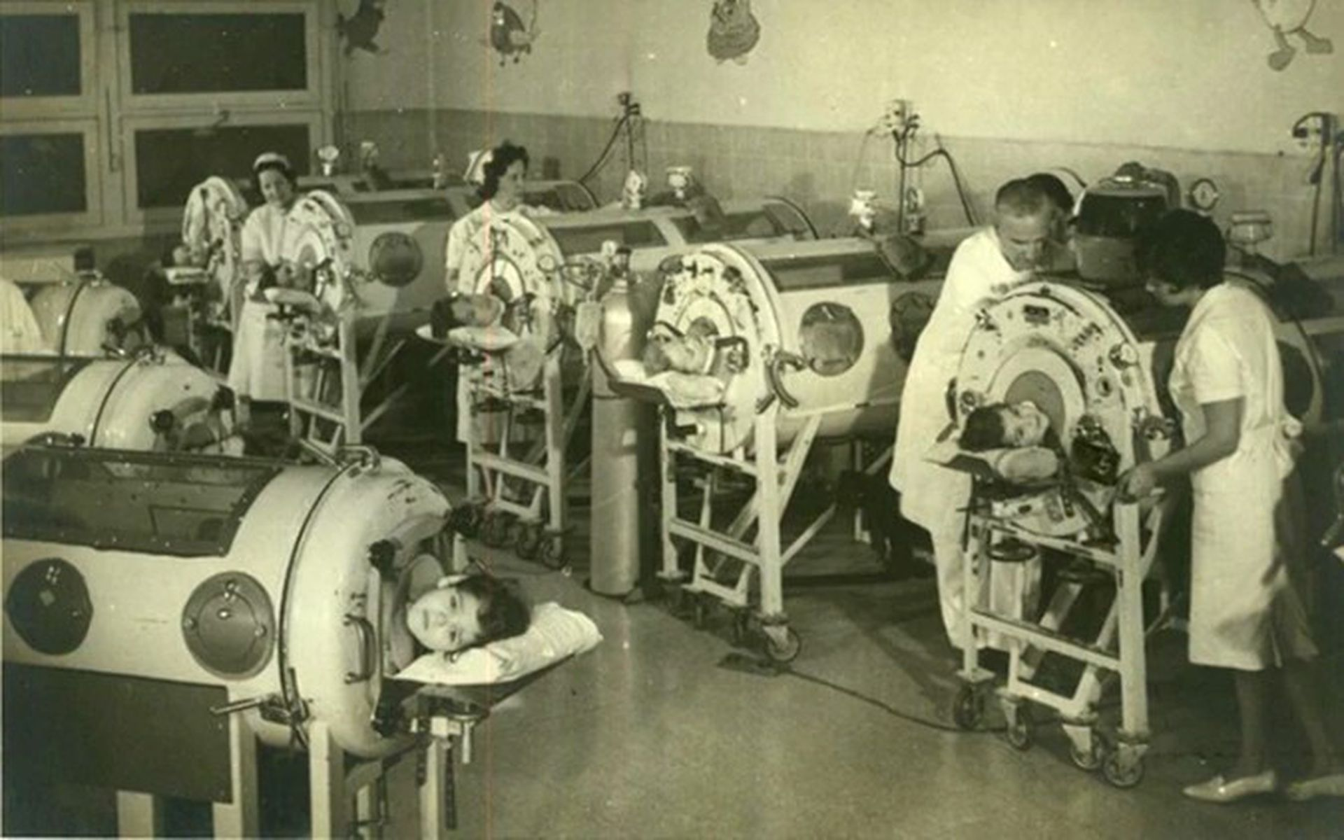 La atención de los chicos en un hospital bonaerense