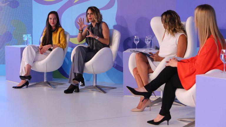 María Paz Sammartino (L'Oréal), Katzi Olivella (Coca-Cola), Carla Quiroga (LA NACION) y Florencia Davel (Bristol-Myers Squibb)