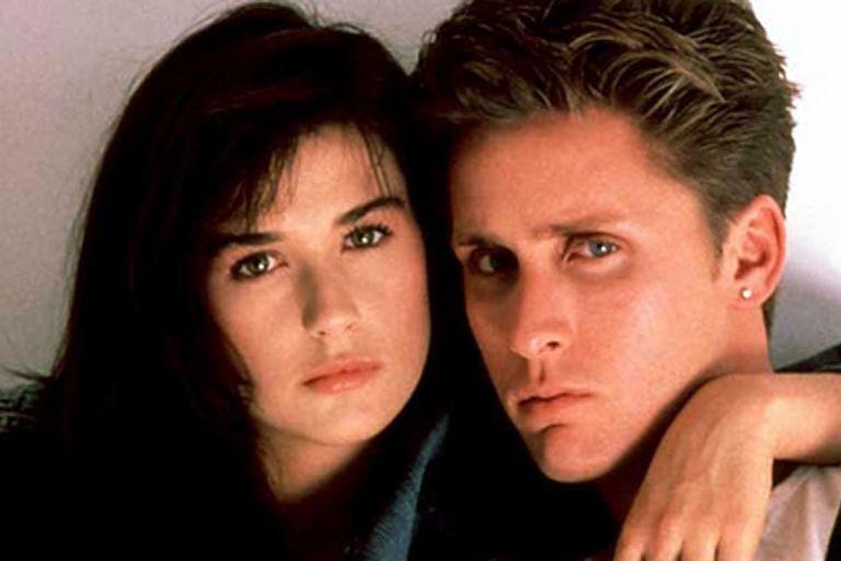 Mucho antes de Ashton Kutcher, Demi Moore estuvo a punto de casarse con Emilio Estevez