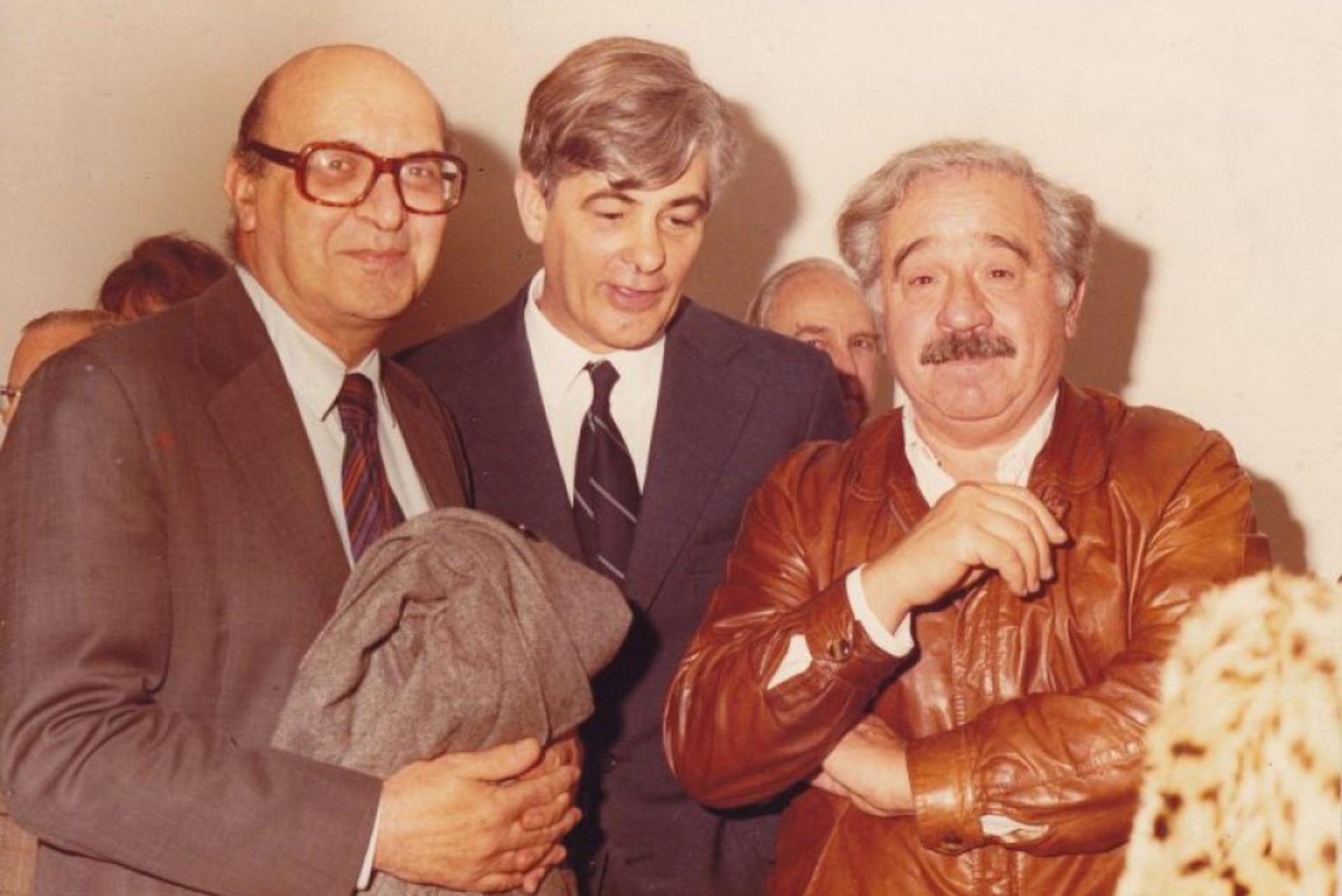 Clorindo, Jacques Martinez y Enio Iommi