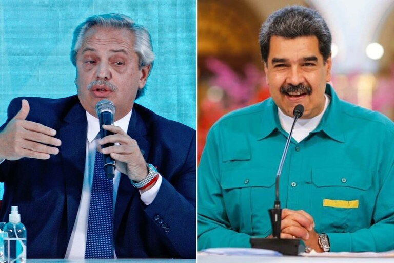Alberto Fernández / Nicolás Maduro