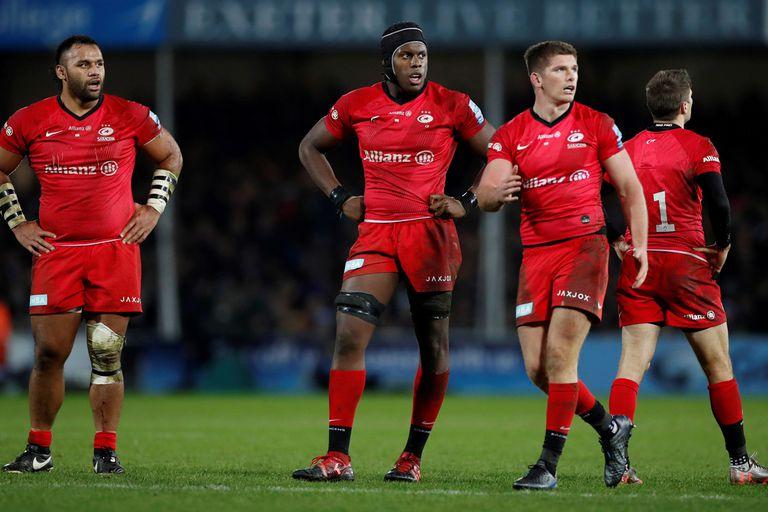 Saracens debe afrontar su descenso de la Premiership, la primera división del rugby inglés