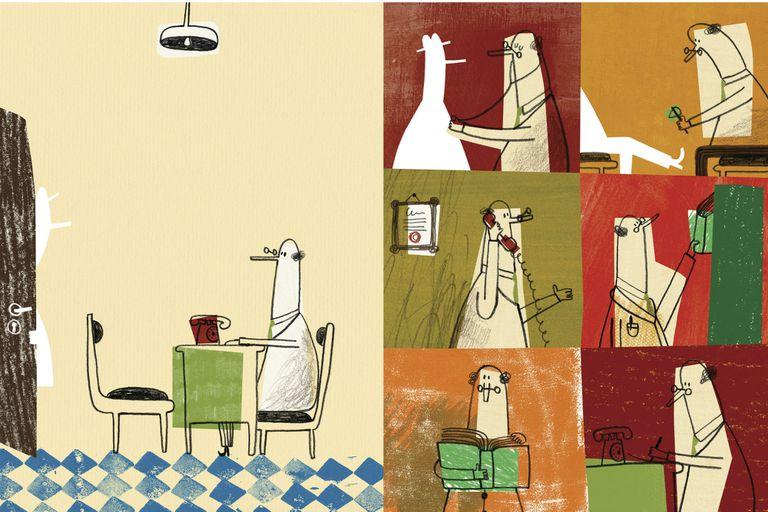 """Historias silenciosas que no necesitan de las palabras para narrar, como """"Vacío"""", de la portuguesa Catarina Sobral"""