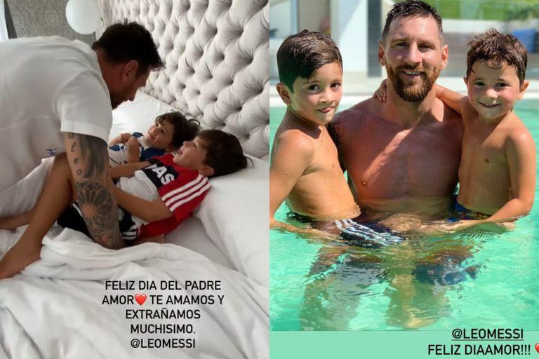 Antonela Roccuzzo no quiso dejar de homenajear a Lionel Messi