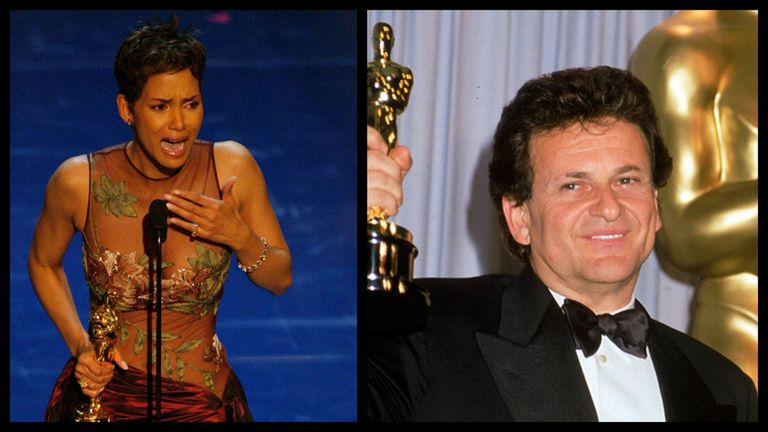Halle Berry y Joe Pesci hicieron historia en los Oscars, por diferentes razones