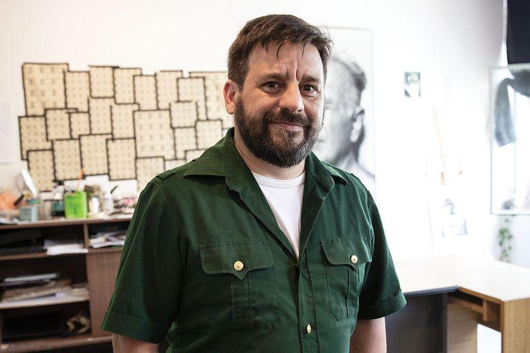 Fernando Pepe, antropólogo, presidente del colectivo Guías (Grupo Universitario de Investigación en Antropología Social).