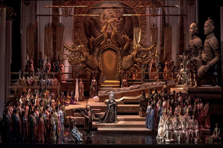 Experiencia Turandot, puesta del Teatro Colón, es una de las propuestas para ver de forma virtual en el día de hoy