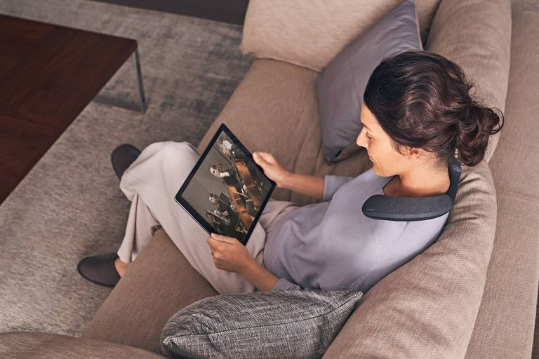 El auricular para el cuello de Sony es compatible con cualquier dispositivo Bluetooth
