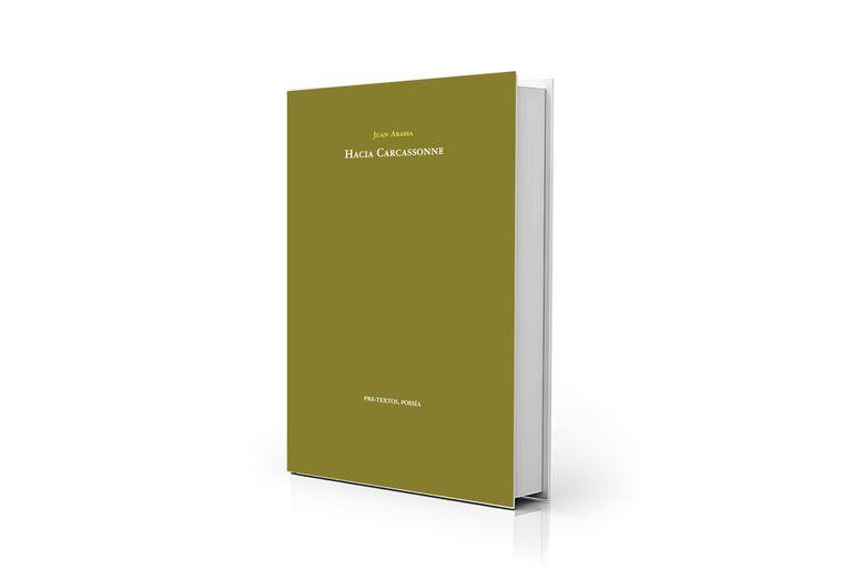 "Portada de ""Hacia Carcassonne"", publicado por Pre-Textos"