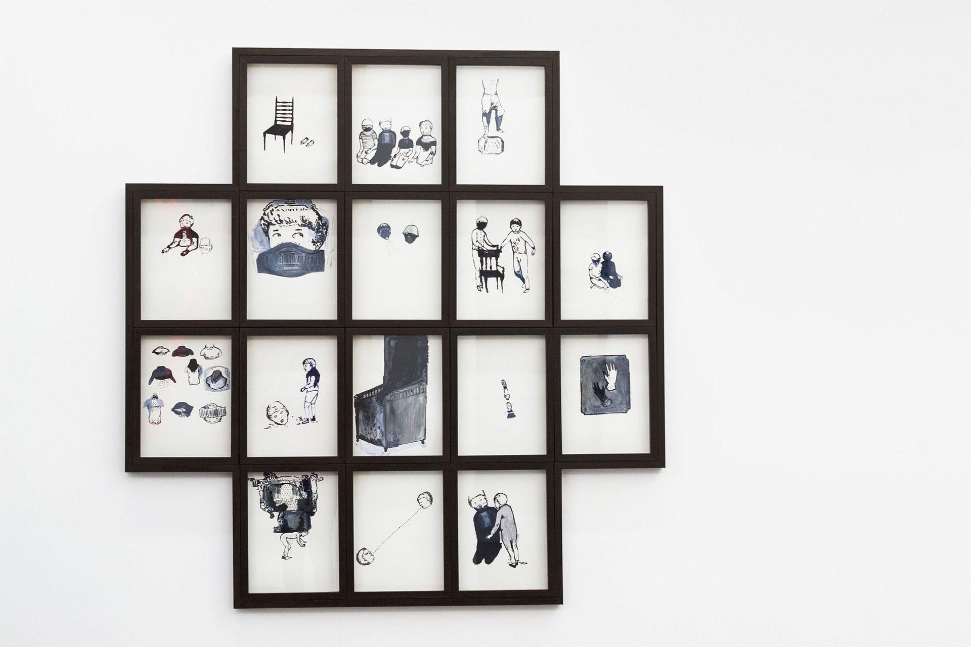 """""""S/T"""" (2017), de Julieta Barderi. Galería Quadro, sección Barrio Joven"""