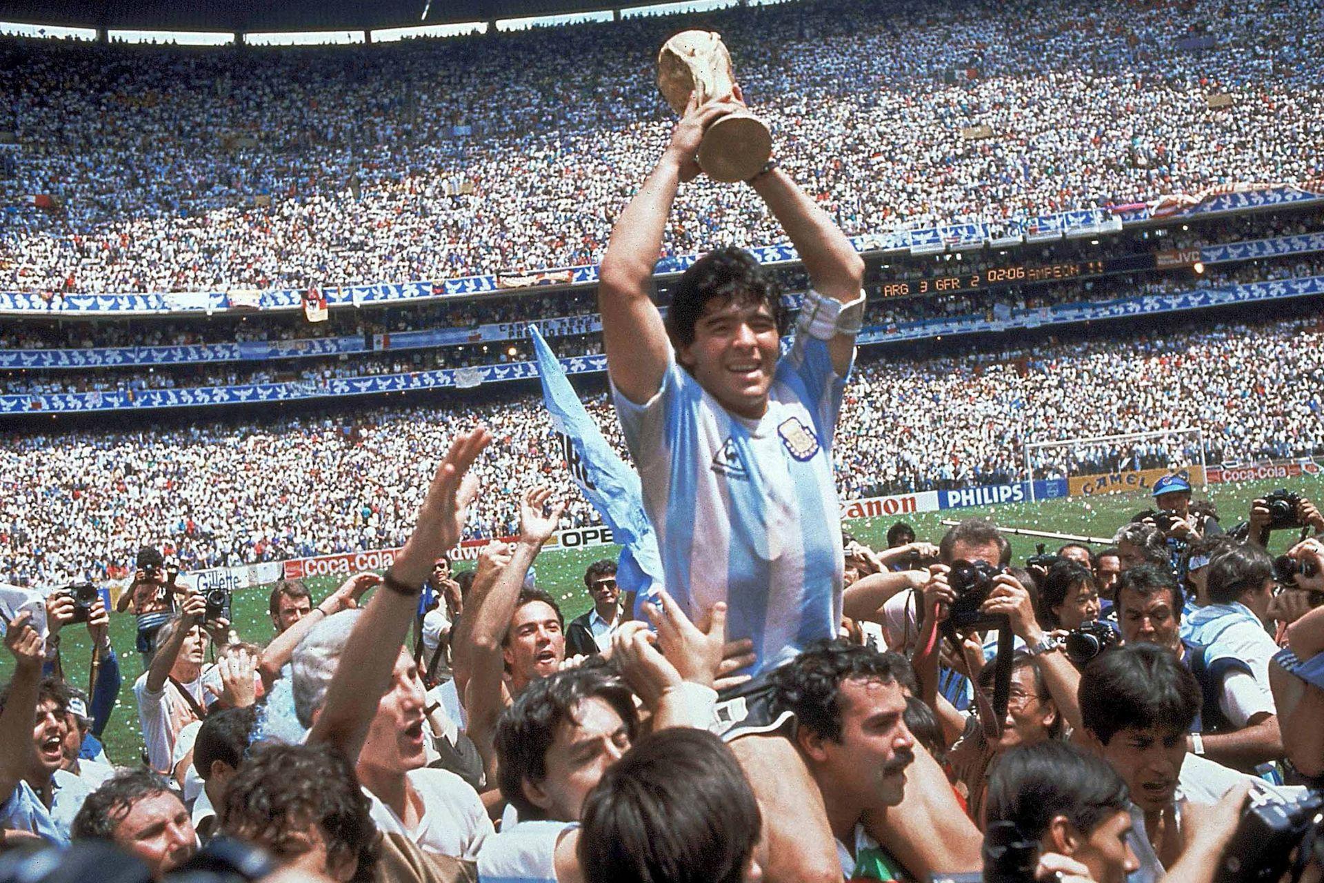 México 86, Maradona en lo más alto del fútbol mundial