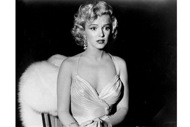 Marilyn en una foto de archivo de 1960